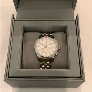 Michele Round Faced Watch